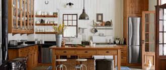 Стиль кантри в интерьере своими руками – кухни и гостиной
