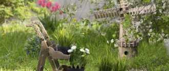 Украшаем садовый участок