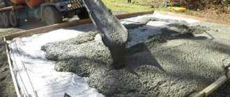 Что представляет собой М200 бетон: состав и пропорции