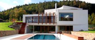 Строительство деревянного дома в стиле модерн – обзор эксклюзивного дизайна