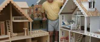 Строим игровой домик для детей: пошаговые фото, схемы, чертежи