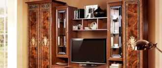 Стенки-горки в гостиную: современность, классика, фото