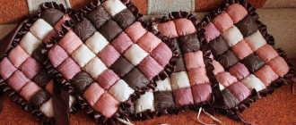 Чехлы на табуреты: обзор накидок на круглые и квадратные табуретки, вязаные и кожаные, в стиле пэчворк и другие