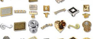 Фурнитура для шкафов, особенности, функционал, материалы изготовления